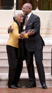 Rev. Dr. James Alexander Forbes, Jr., with wife Betty Forbes